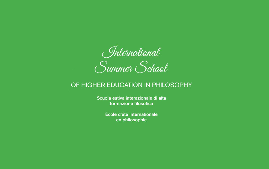 International Summer School 2019