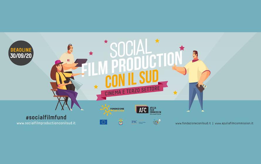 """""""Social Film con il Sud"""", cinema e terzo settore insieme per un racconto oltre gli stereotipi"""
