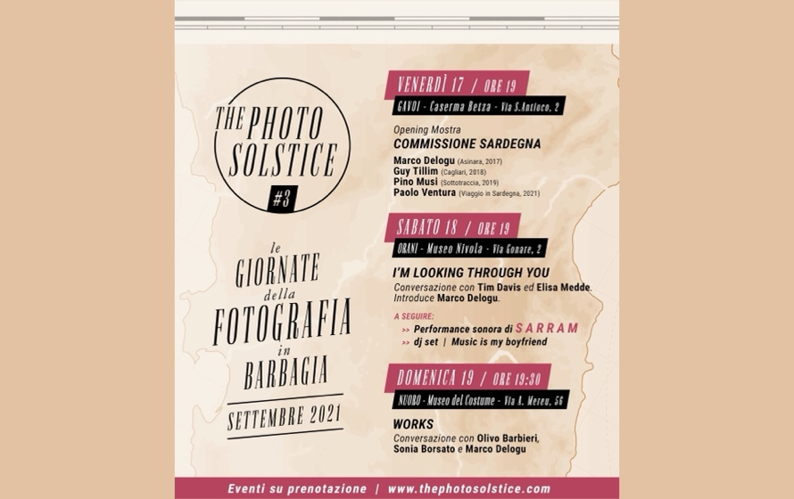 The Photo Solstice, dal 17 al 21 settembre le giornate della fotografia in Barbagia